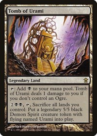 Tomb of Urami, Magic: The Gathering, Saviors of Kamigawa