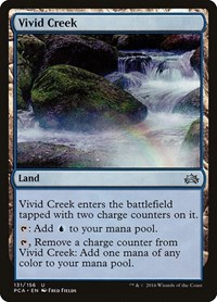 Vivid Creek, Magic: The Gathering, Planechase Anthology
