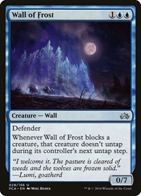 Wall of Frost, Magic, Planechase Anthology