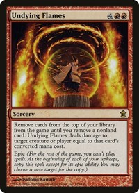 Undying Flames, Magic, Saviors of Kamigawa