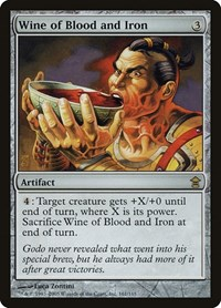 Wine of Blood and Iron, Magic: The Gathering, Saviors of Kamigawa