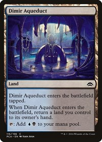 Dimir Aqueduct, Magic, Planechase Anthology