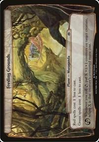 Feeding Grounds (Planechase Anthology), Magic, Oversize Cards