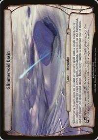 Glimmervoid Basin (Planechase Anthology), Magic, Oversize Cards