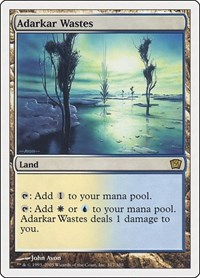 Adarkar Wastes, Magic: The Gathering, 9th Edition