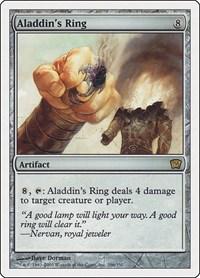 Aladdin's Ring, Magic: The Gathering, 9th Edition