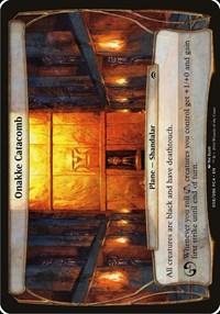 Onakke Catacomb (Planechase Anthology), Magic, Oversize Cards