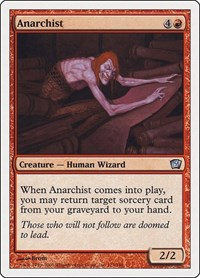 Anarchist, Magic: The Gathering, 9th Edition