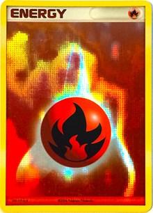 Fire Energy (2006-2007 League Promo), Pokemon, League & Championship Cards