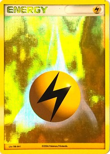 Lightning Energy (2006-2007 League Promo), Pokemon, League & Championship Cards