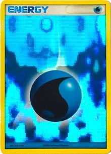 Water Energy (2006-2007 League Promo), Pokemon, League & Championship Cards