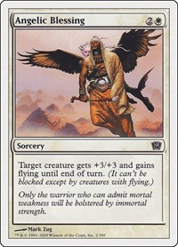 Angelic Blessing, Magic: The Gathering, 9th Edition
