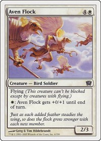Aven Flock, Magic: The Gathering, 9th Edition