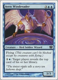 Aven Windreader, Magic: The Gathering, 9th Edition