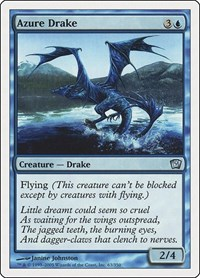 Azure Drake, Magic: The Gathering, 9th Edition