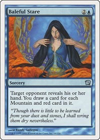 Baleful Stare, Magic: The Gathering, 9th Edition