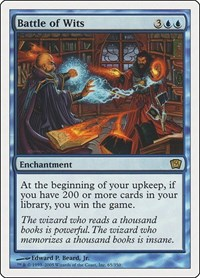 Battle of Wits, Magic: The Gathering, 9th Edition