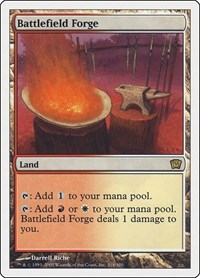 Battlefield Forge, Magic: The Gathering, 9th Edition