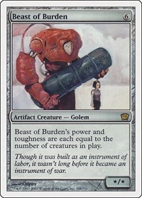 Beast of Burden, Magic: The Gathering, 9th Edition