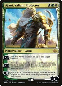 Ajani, Valiant Protector, Magic: The Gathering, Aether Revolt