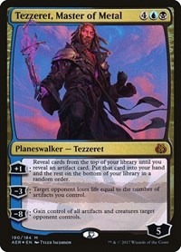 Tezzeret, Master of Metal, Magic: The Gathering, Aether Revolt