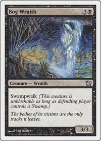 Bog Wraith, Magic: The Gathering, 9th Edition
