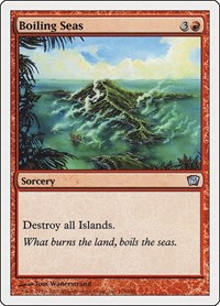 Boiling Seas, Magic: The Gathering, 9th Edition