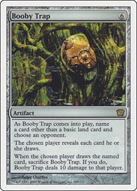 Booby Trap, Magic: The Gathering, 9th Edition