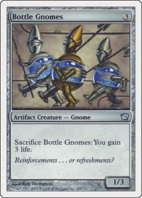 Bottle Gnomes, Magic: The Gathering, 9th Edition