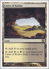 Caves of Koilos, Magic: The Gathering, 9th Edition