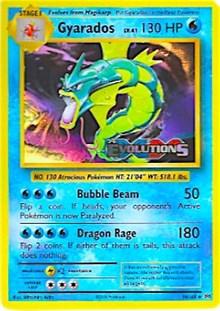 Gyarados (XY Evolutions Prerelease), Pokemon, XY Promos