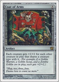 Coat of Arms, Magic: The Gathering, 9th Edition