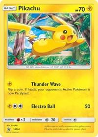 Pikachu - SM04, Pokemon, SM Promos