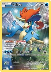 Keldeo - XY118, Pokemon, XY Promos