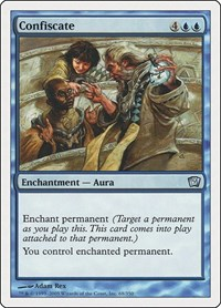 Confiscate, Magic: The Gathering, 9th Edition