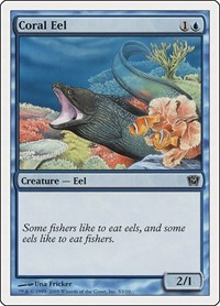 Coral Eel, Magic: The Gathering, 9th Edition