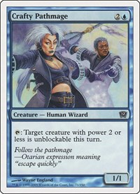 Crafty Pathmage, Magic: The Gathering, 9th Edition