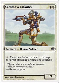 Crossbow Infantry, Magic: The Gathering, 9th Edition