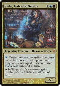 Sydri, Galvanic Genius (Commander 2013), Magic: The Gathering, Oversize Cards