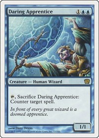 Daring Apprentice, Magic: The Gathering, 9th Edition