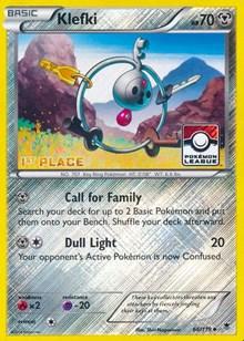 Klefki - 66/119 (League Promo) [1st Place], Pokemon, League & Championship Cards
