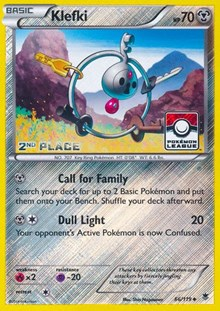 Klefki - 66/119 (League Promo) [2nd Place], Pokemon, League & Championship Cards