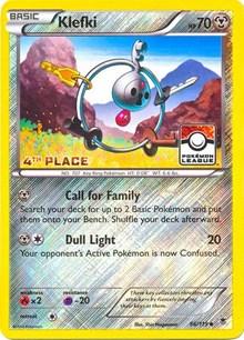 Klefki - 66/119 (League Promo) [4th Place], Pokemon, League & Championship Cards