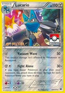 Lucario - 63/124 (League Promo) [4th Place], Pokemon, League & Championship Cards