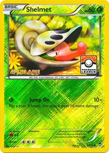 Shelmet - 8/111 (League Promo) [4th Place], Pokemon, League & Championship Cards