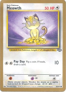 Meowth (Gold Bordered Promo), Pokemon, Miscellaneous Cards & Products