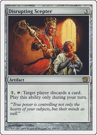 Disrupting Scepter, Magic: The Gathering, 9th Edition