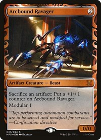 Arcbound Ravager, Magic: The Gathering, Masterpiece Series: Kaladesh Inventions