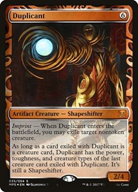 Duplicant, Magic: The Gathering, Masterpiece Series: Kaladesh Inventions