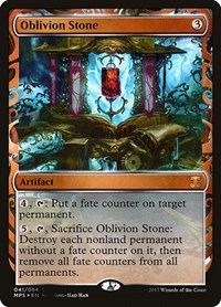 Oblivion Stone, Magic: The Gathering, Masterpiece Series: Kaladesh Inventions